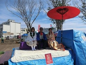 一景嶋神社復興祭